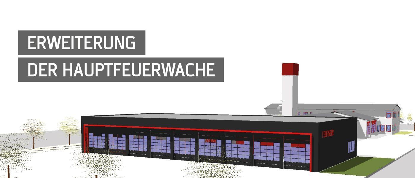 Bautagebuch - Erweiterung der Hauptfeuerwache