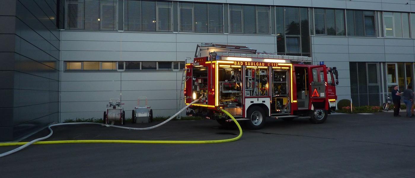Neues von der Feuerwehr Bad Saulgau